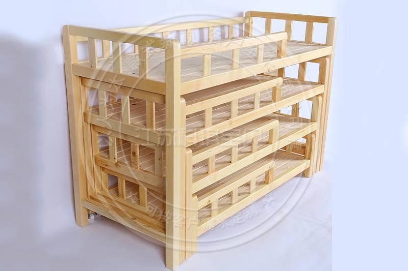 幼儿园家具厂家生产的幼儿园床特点介绍